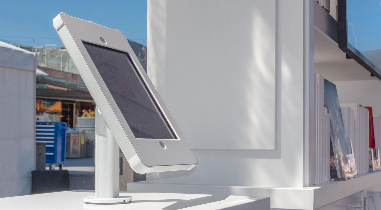 Desk Mount iPad enclosure Event