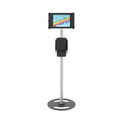 iPad Floorstand with integrated Label Printer