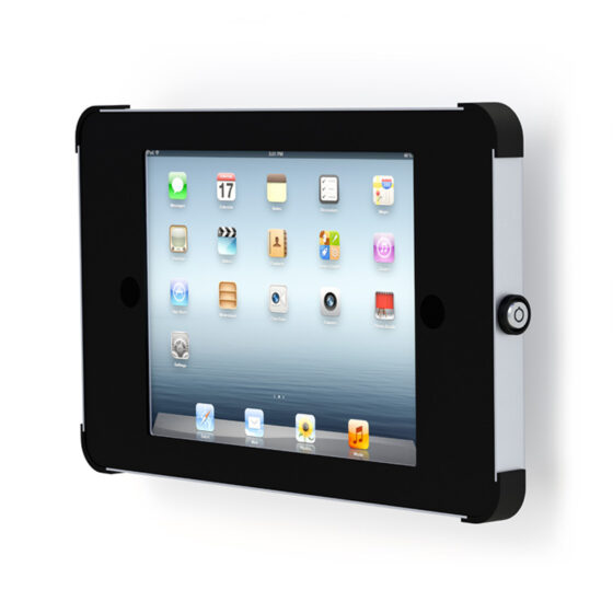 X Flat Wall Tablet Mount 10 Inch iPad Black