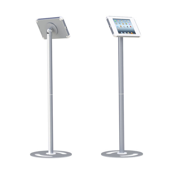 X Floor Stand iPad White