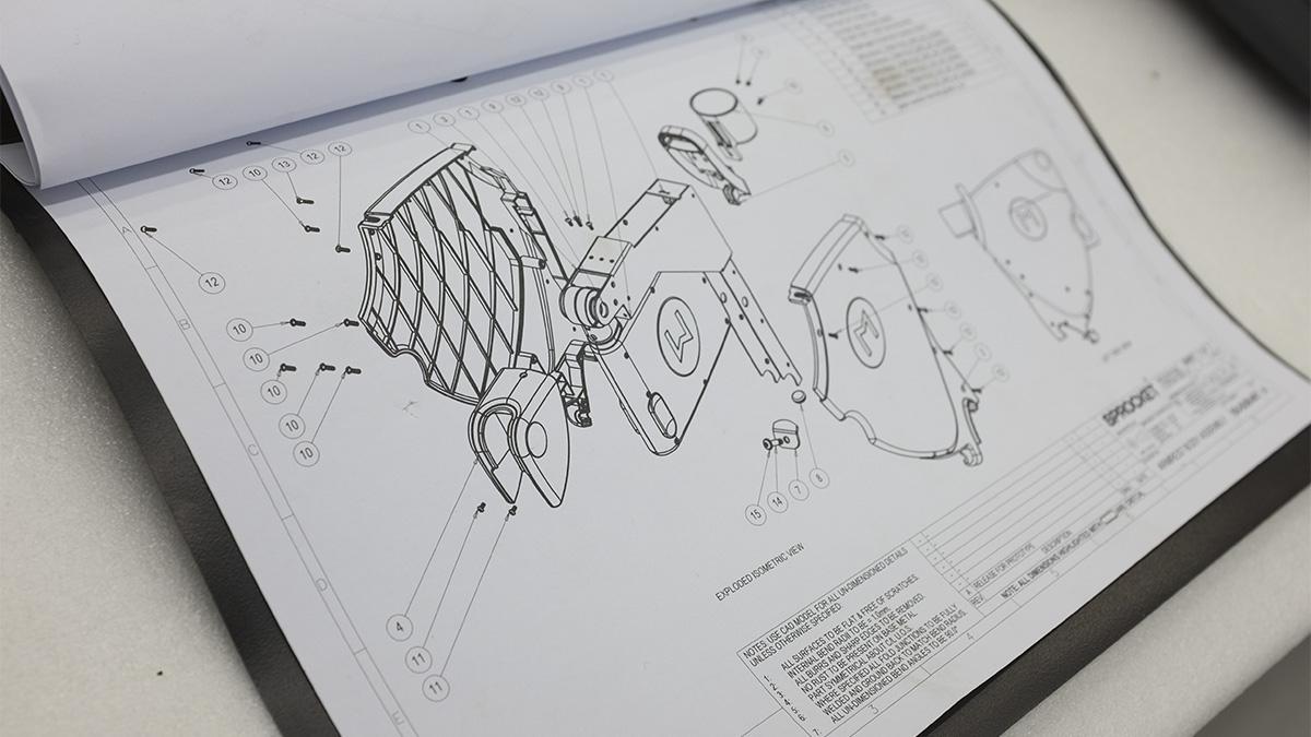 Diagrams for the Etihad stadium smart seat enclosures