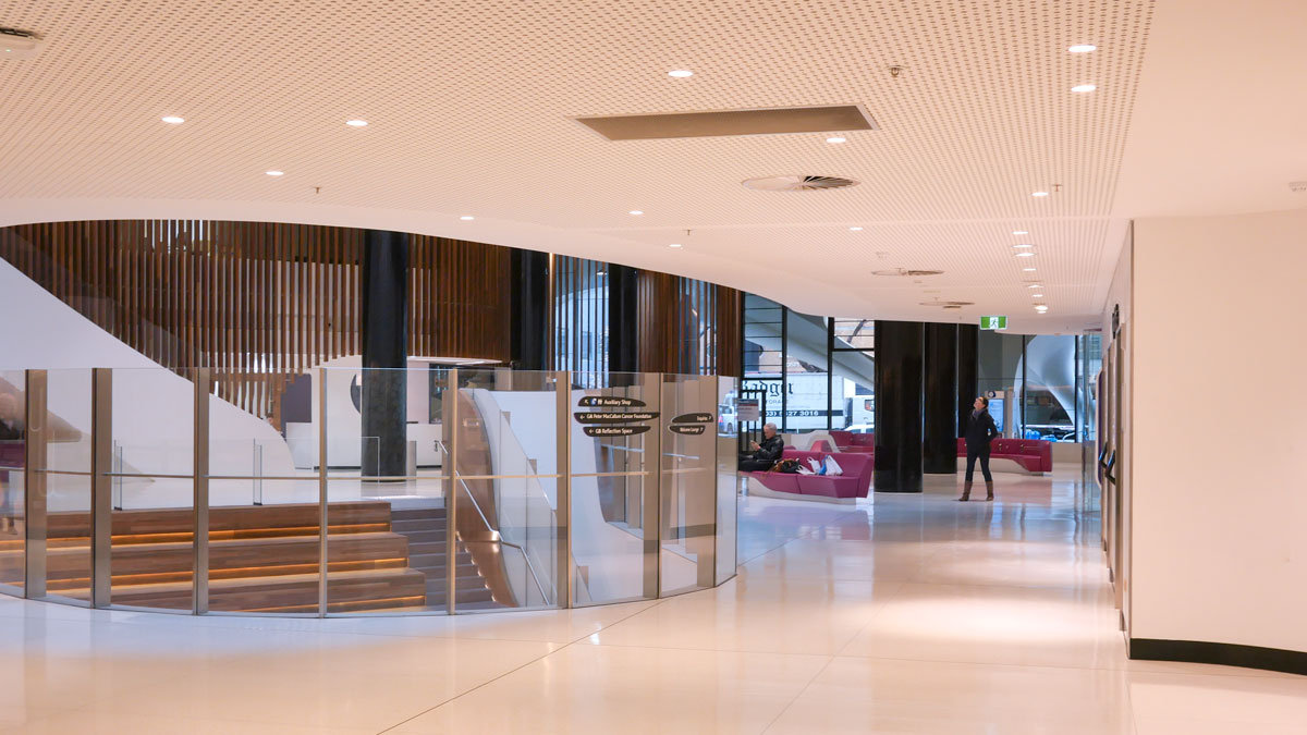 Victorian Comprehensive Cancer Centre Foyer View