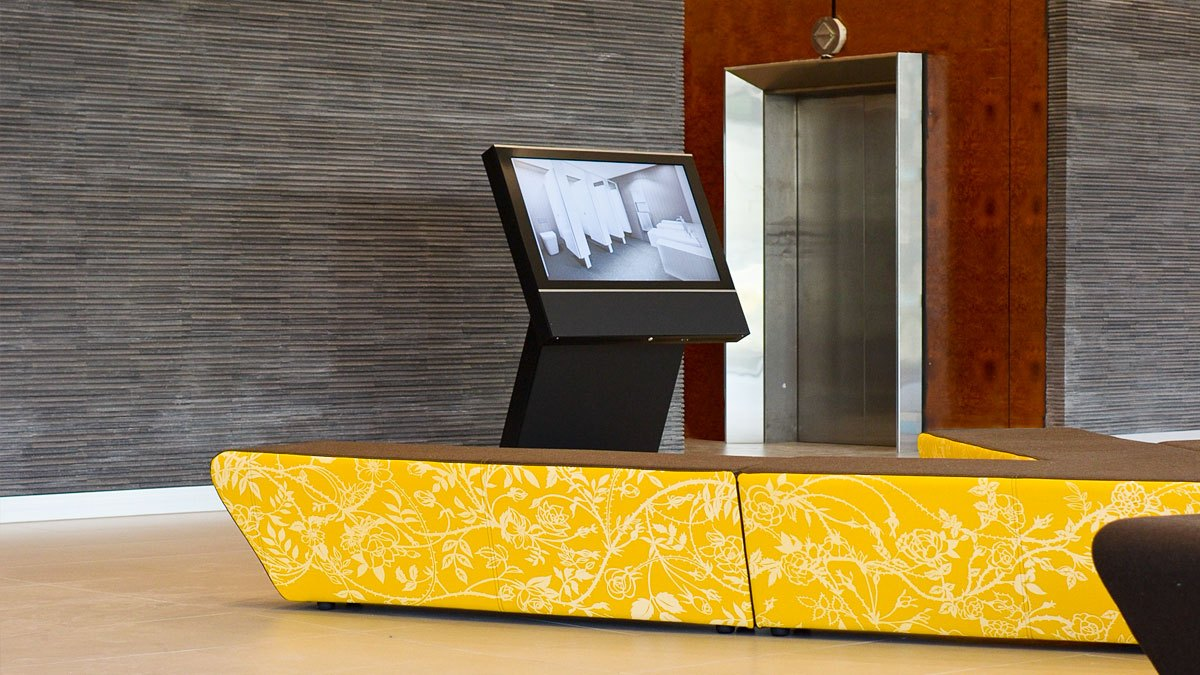Touchscreen Building Directory at 636 stkilda road melbourne