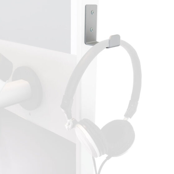 headphone hook for tablet stand