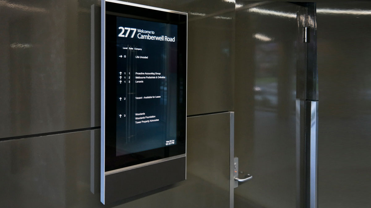 New 22 inch Building Directory