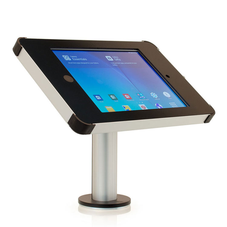 Desk mounted tablet stand
