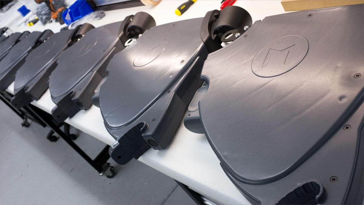 Production of Etihad stadium custom tablets enclosures