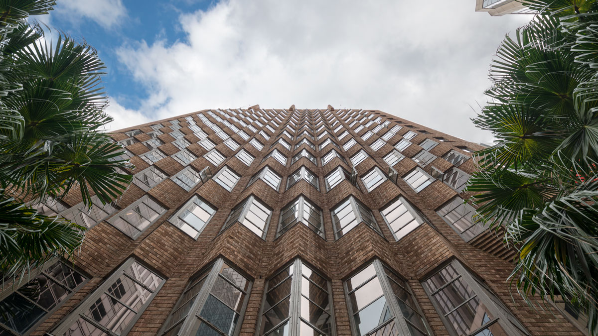 Looking up at 80 Pitt Street